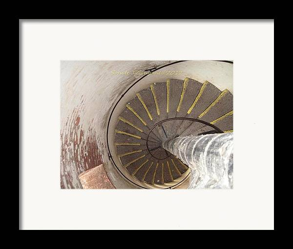 Helix Framed Print featuring the photograph Helical Stairway by Sonali Gangane
