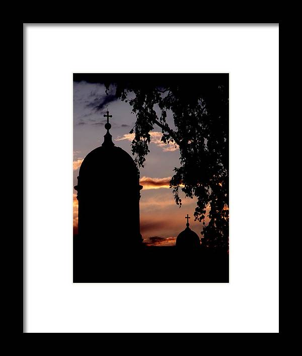 Helsinki Framed Print featuring the photograph Helsinki Sunset by Lee Versluis