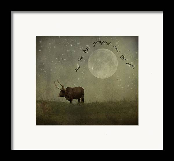 Nursery Rhyme Framed Print featuring the photograph Hey Diddle Diddle by Juli Scalzi