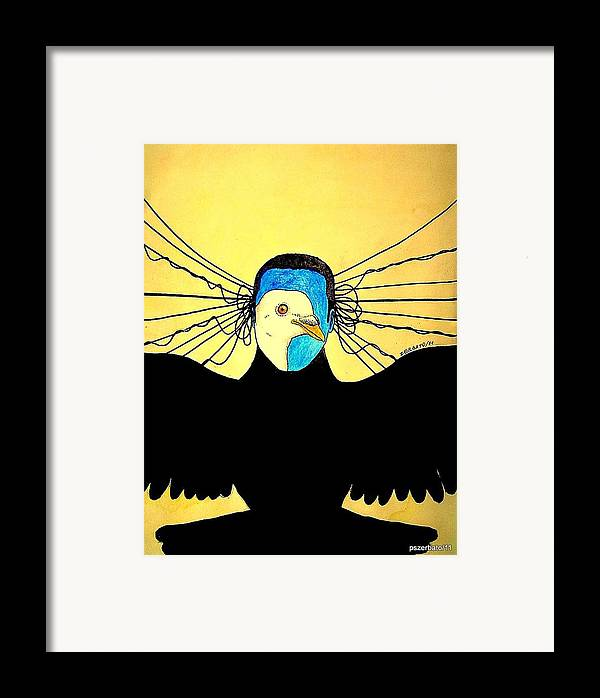 Interpret Signs Framed Print featuring the digital art Hidden Face Of Prisons by Paulo Zerbato