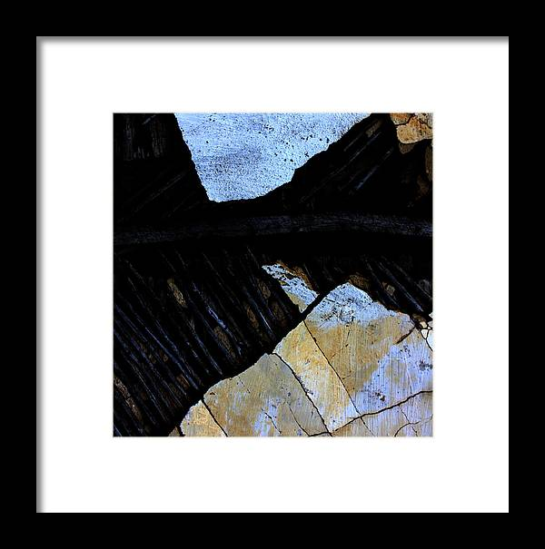 Street Framed Print featuring the photograph Hills With Stones by The Artist Project