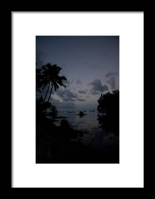 Hawaii Framed Print featuring the photograph Hilo Harbor Sunset by Tony and Kristi Middleton