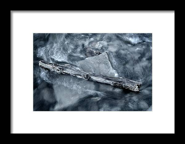 River Framed Print featuring the photograph Hindered by Zoran Buletic