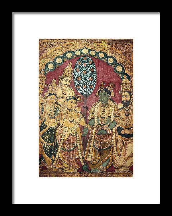 Asian Framed Print featuring the photograph Hindu Wedding Ceremony by Granger