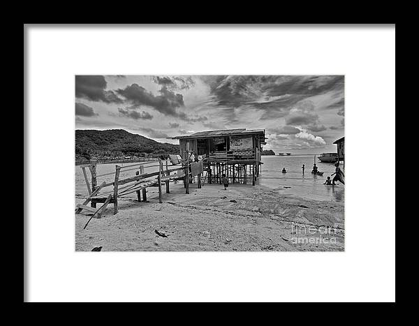 House Framed Print featuring the photograph Home by Gary Bridger