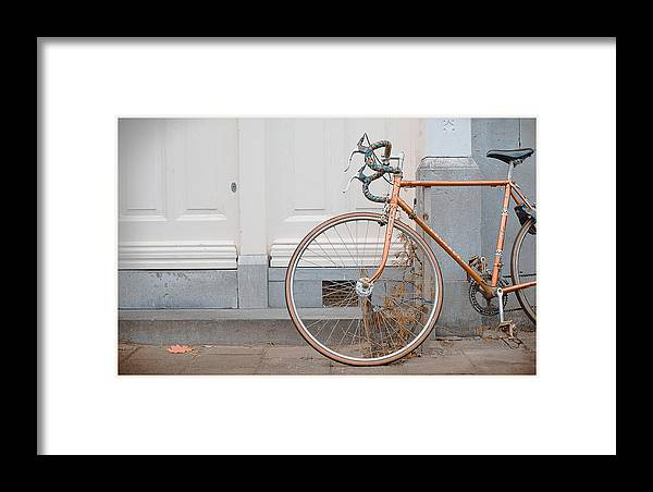 Bikes Framed Print featuring the photograph Home by Peter Van den Berg