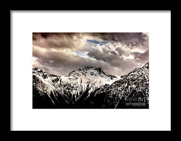 Mountain Framed Print featuring the photograph Home2 by Cazyk Photography