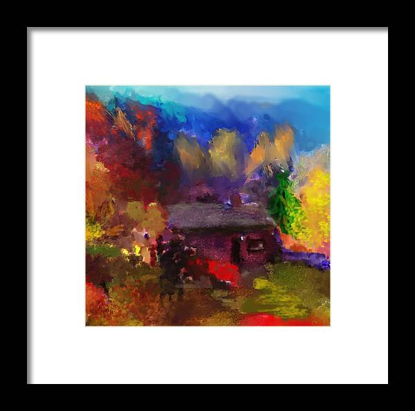Fine Art Framed Print featuring the photograph Homestead by David Lane