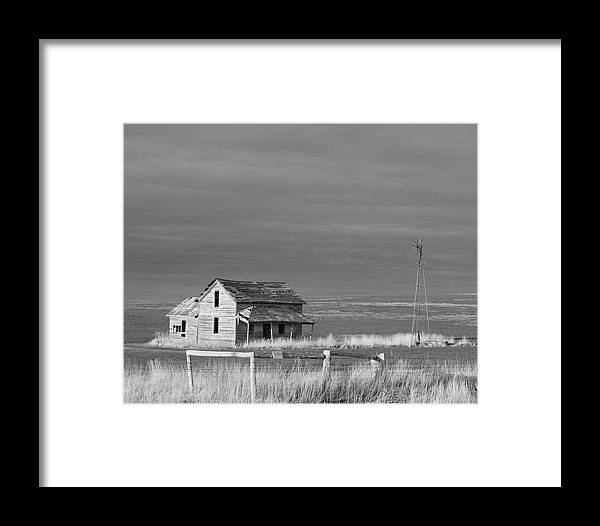 Homestead Framed Print featuring the photograph Homestead by HW Kateley