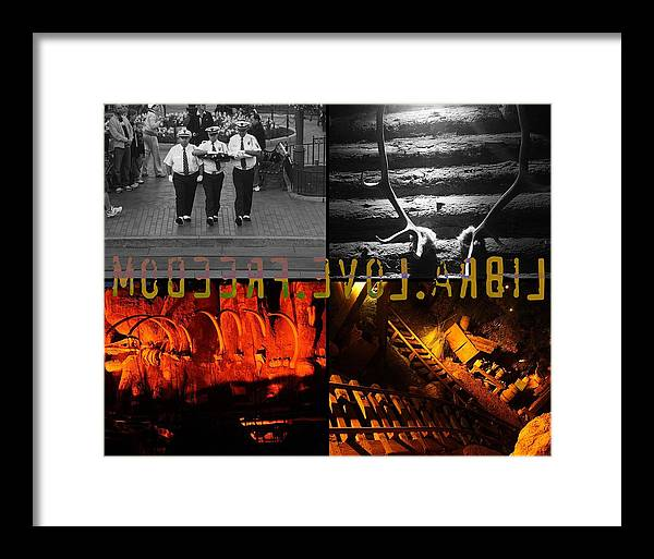 Libra.love.freedom Framed Print featuring the photograph Hope by D Wash
