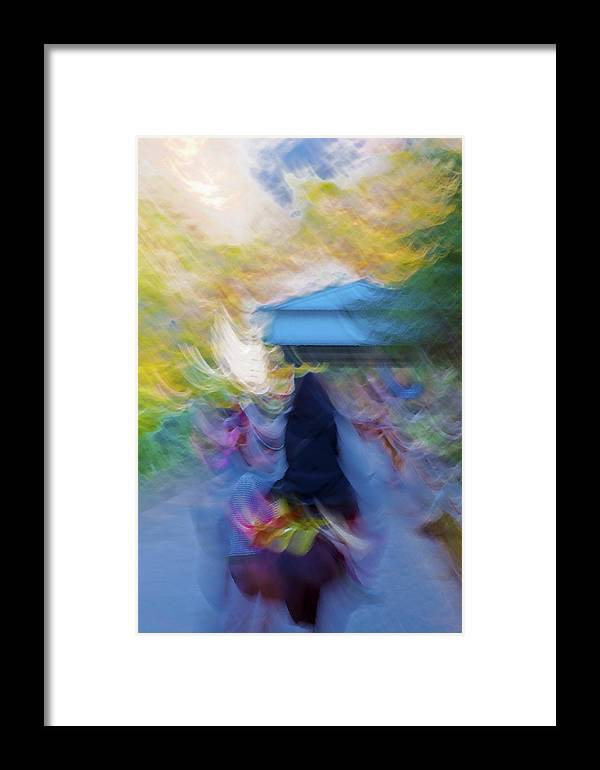 Interesting Framed Print featuring the photograph Horseback Shades And Vibes by Kantilal Patel