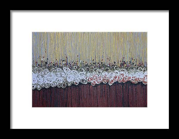 Kate Tesch Framed Print featuring the painting Hot Breath by Kate Tesch