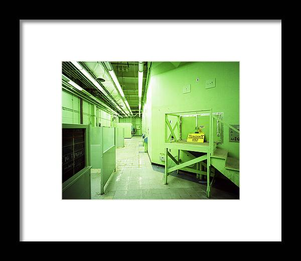 Nts Framed Print featuring the photograph Hot Hallway by Jan W Faul