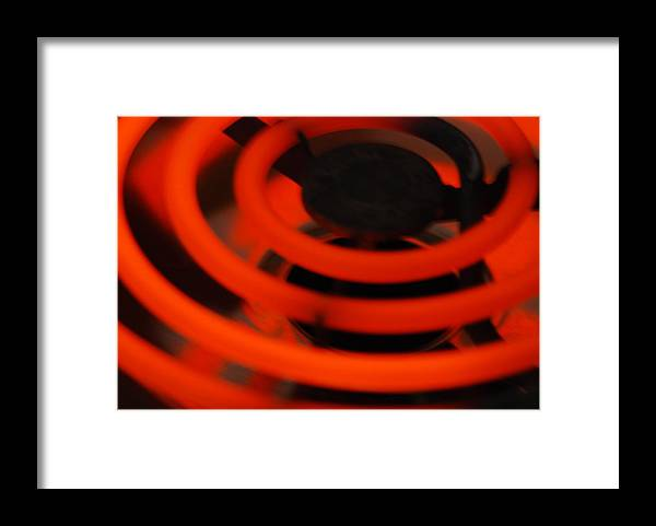 Hot Framed Print featuring the photograph HOT by Michael Merry