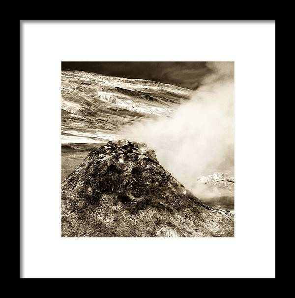 Iceland Framed Print featuring the photograph Hot Spot by Mary Lane