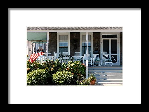 House Framed Print featuring the photograph House 215 by Joyce StJames