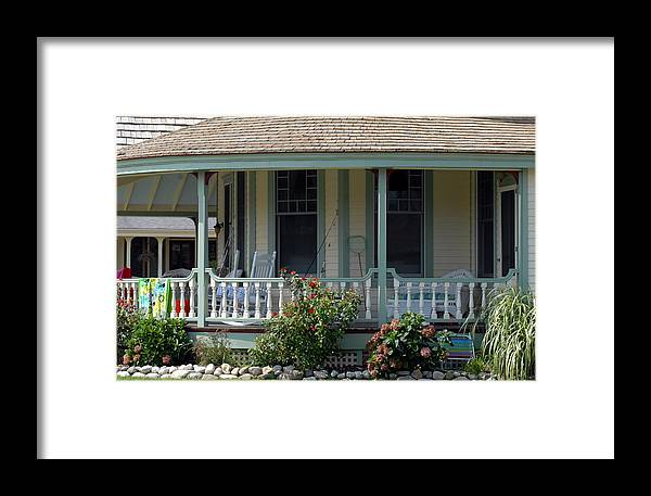 House Framed Print featuring the photograph House 217 by Joyce StJames