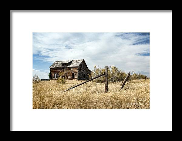Country Framed Print featuring the photograph House Of Dreams by Brian Ewing