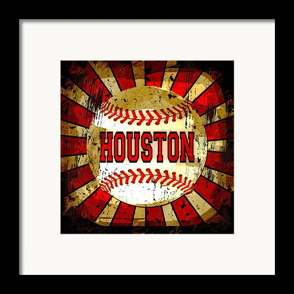 Houston Framed Print featuring the photograph Houston by David G Paul