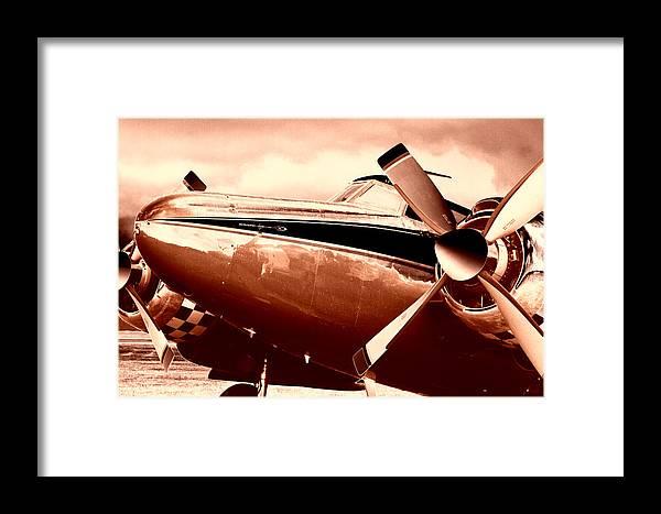 Howard Aero 500 Framed Print featuring the photograph Howard Aero 500 1960 by Maxwell Amaro