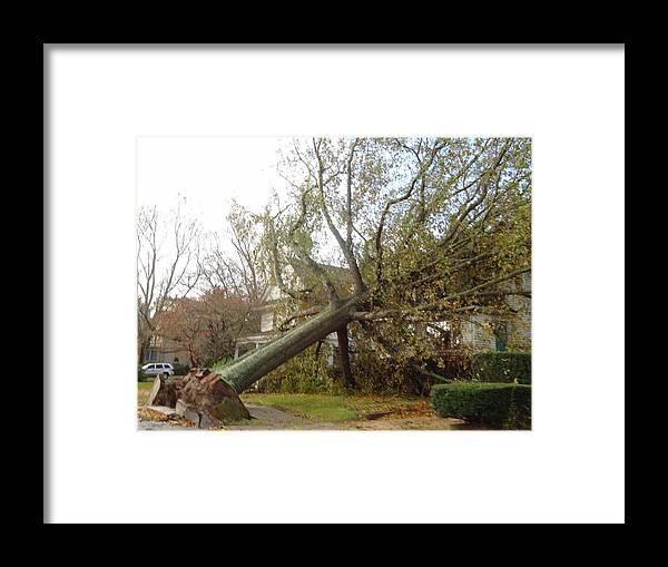 Hurricane Framed Print featuring the photograph Hurricane Sandy I by Jessica Cruz
