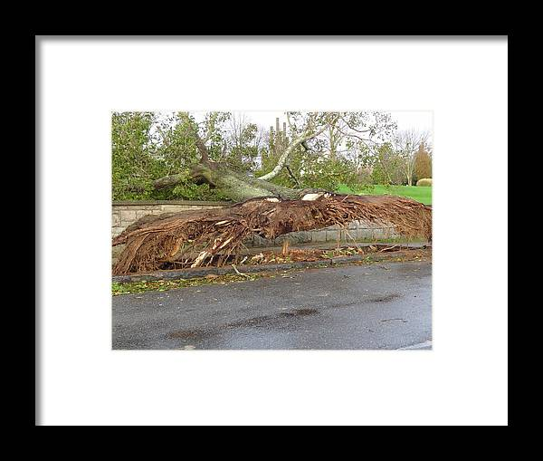 Hurricane Framed Print featuring the photograph Hurricane Sandy II by Jessica Cruz