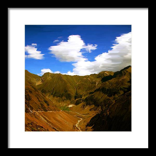 Landscape Framed Print featuring the photograph Hyacintho by Bogdan Botofei