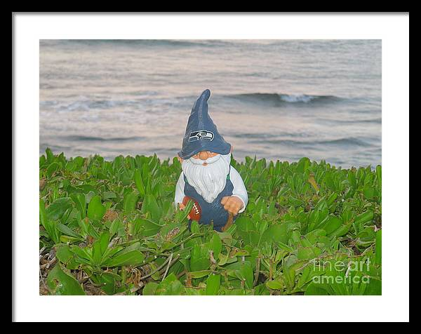 Knome Framed Print featuring the photograph I Can Score by Bruce Borthwick