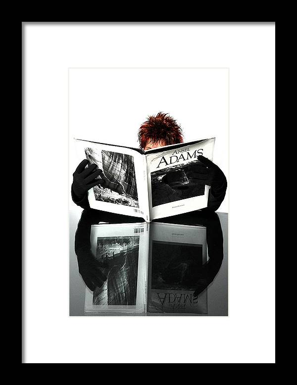 Black And White Photography Framed Print featuring the photograph I Love Black and White by John Banegas