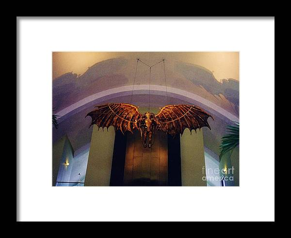 Louis Armstrong Airport Framed Print featuring the photograph Icarus In The Louis Armstrong International Airport In New Orleans by John Malone