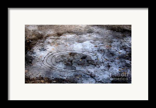Autumn Canvas Prints Framed Print featuring the photograph Ice Figures by Pauli Hyvonen