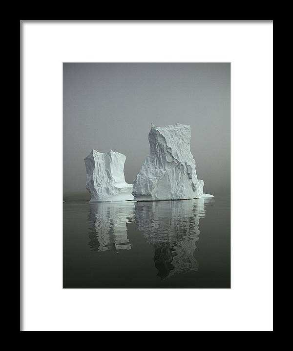 Antarctica Framed Print featuring the photograph Iceberg by David Vaughan
