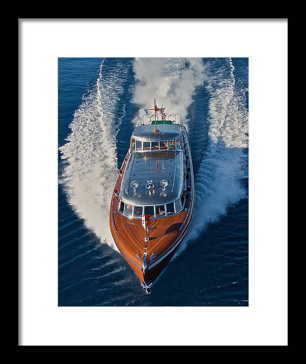Iconic Wooden Boat Framed Print featuring the photograph Iconic Thunderbird by Steven Lapkin