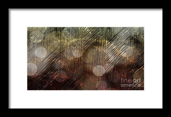 Reflection Framed Print featuring the mixed media Illuminating Reflections by Christine Mayfield