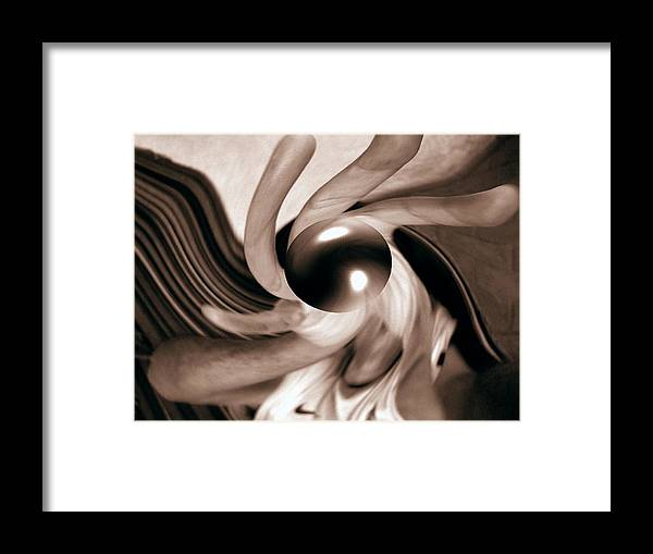 Hand Framed Print featuring the photograph Illusion by Beto Machado