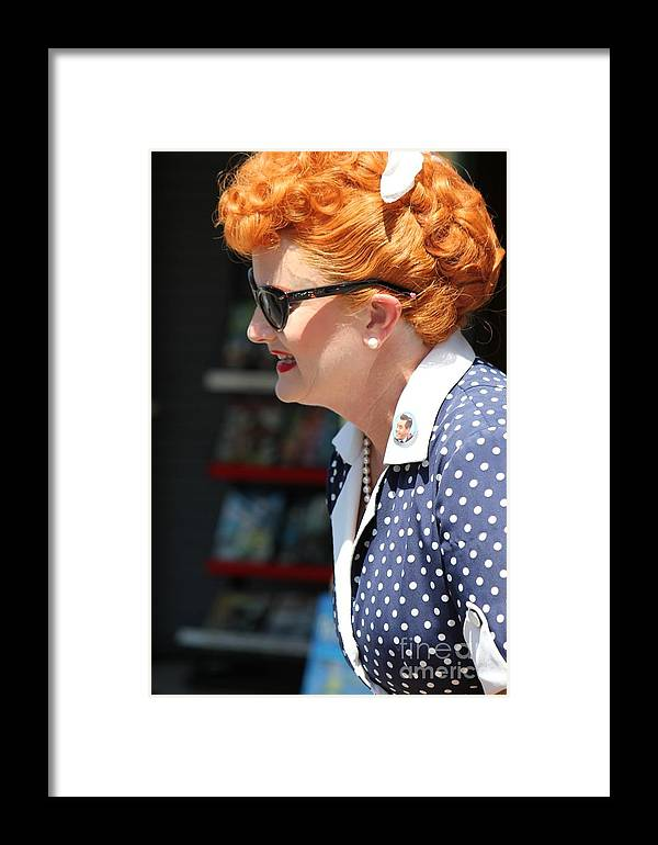 Woman Framed Print featuring the photograph In Disguise by Sophie Vigneault