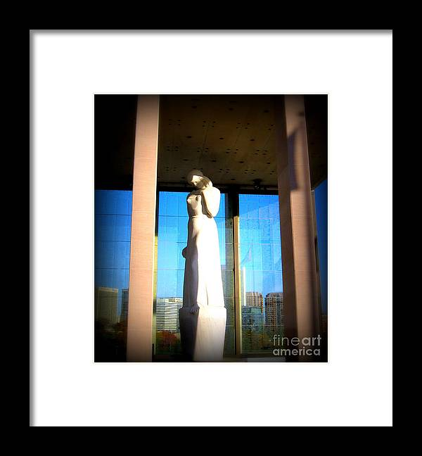 Monuments Framed Print featuring the photograph In Memory Of by Nancy Dole McGuigan