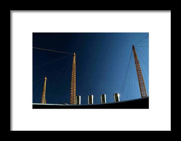 Jezcself Framed Print featuring the photograph In Tents by Jez C Self