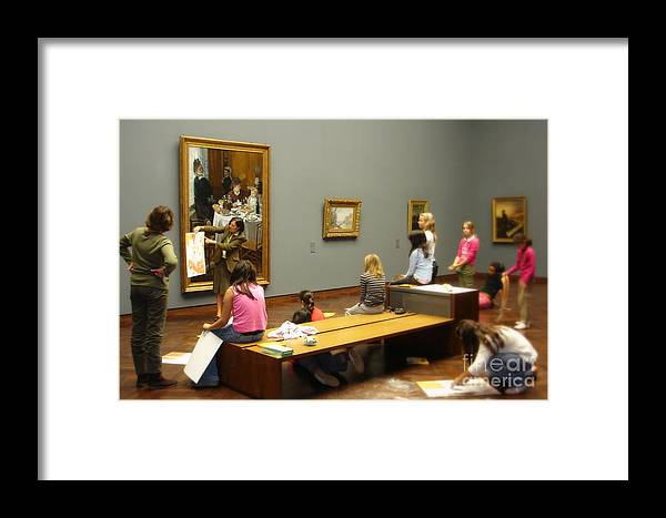 Museum Framed Print featuring the photograph In The Museum by Tanya Searcy