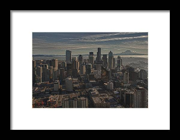 Seattle Framed Print featuring the photograph In The Shadows by Chuck Bowser