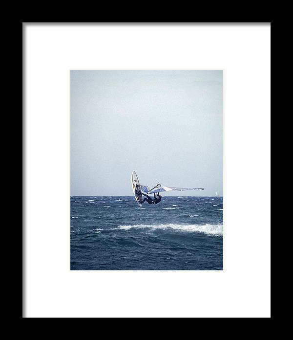 Sea Framed Print featuring the photograph In The Wind by Patrick Kessler