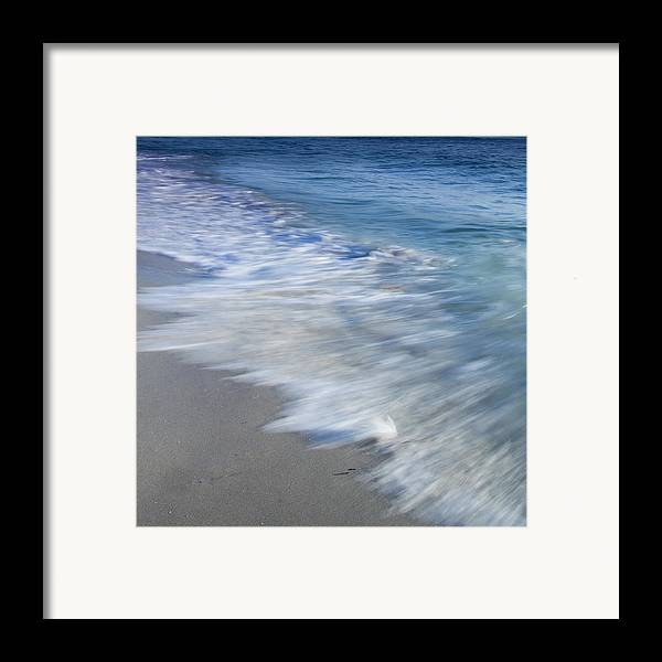 Waves Framed Print featuring the photograph Incoming by Ryan Weddle