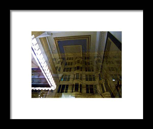 Philadelphia Framed Print featuring the photograph Indoor Out by Kathleen Foy