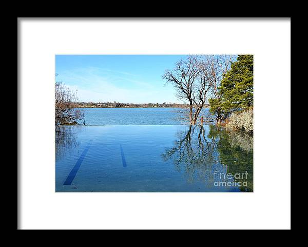 Water Framed Print featuring the photograph Infinity by Debbi Granruth