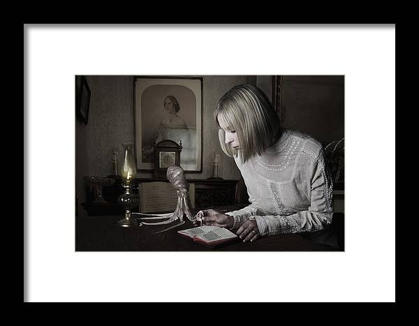 Ink Framed Print featuring the photograph Ink by Terry Slater