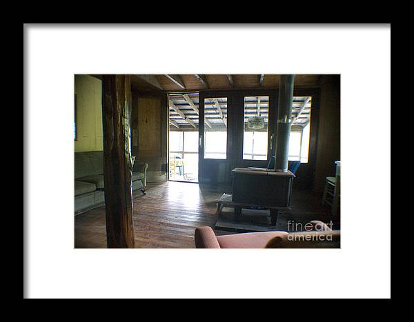 Cabin Framed Print featuring the photograph Inside Heaven by Cris Hayes