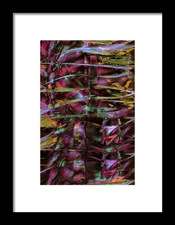 Inside Out Framed Print featuring the digital art Inside Out by Linda Sannuti