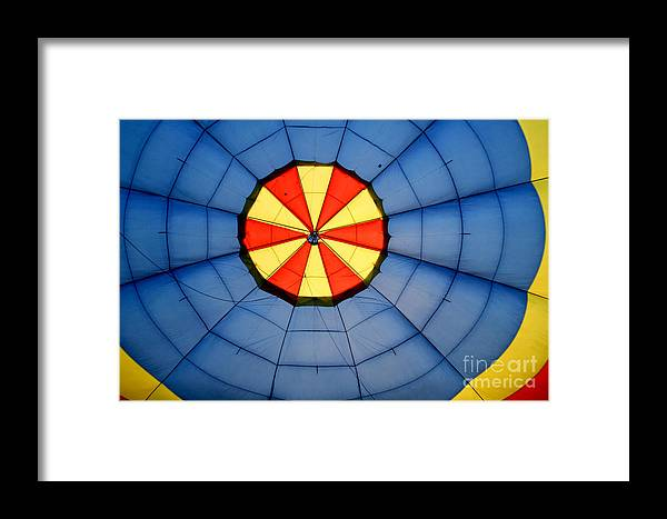 Balloon Framed Print featuring the photograph Inside Skydancer by Paul Anderson
