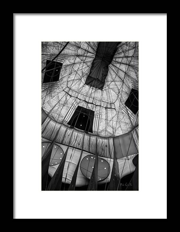 Hot Air Balloon Framed Print featuring the photograph Inside The Balloon Two by Bob Orsillo