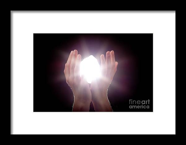 Light Framed Print featuring the photograph Inspiration by Cindy Singleton